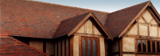 Dreadnought roof tiles on award winning private house